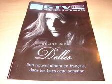 CELINE DION - OBJET COLLECTOR D'ELLES !!!!!!!!!!!!