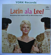 PEGGY LEE - Latin Ala Lee - Excellent Condition LP Record Capitol T 1290