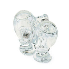 Koziol STEP'N PEP Salt & Pepper Shakers - CLEAR