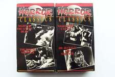 Horror Classics 4 VHS Tape Lot