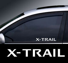 2 x Nissan X-Trail Window Decal Sticker Graphic *Colour Choice*