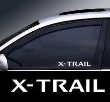 2 x Nissan X-Trail Window Decal Sticker Graphic *Colour Choice*