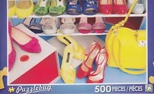 NEW Puzzlebug 500 Piece Jigsaw Puzzle ~ Fashion Shoes