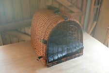 Wicker Cat or Dog Carrier