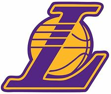 LOS ANGELES LA LAKERS  Logo ~ Window WALL DECAL * Vinyl Car STICKER ~ ANY COLORS