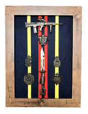 More details for royal logistics corps commemorative frame with l85a3