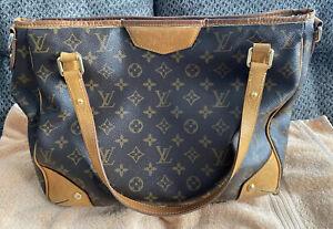 Louis Vuitton Retiro PM Tote Bag Brown Monogram Vachetta Leather *DAMAGED AS IS*