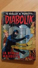 DIABOLIK seconda serie n.15 / 1965  La statua maledetta  ORIGINALE  Sodip