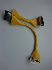 NEWlink Master IDE Ribbon Vintage PC Connector Yellow Cable
