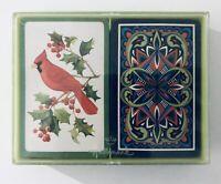 Vintage Hallmark Cardinals Bird Bridge Playing Cards 2 Decks Set Excellent