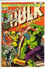 Incredible Hulk (1962) #181 1st Wolverine Signed by Wein & Trimpe w/MVS VG-