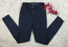American Eagle Women's Jeans Black dark wash Sky High Jegging Skinny size 2 Reg.