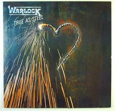 "12"" LP - Warlock - True As Steel - C1779 - washed & cleaned"
