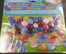 "BALLOON DROP BAG 80""  x 36""  CLEAR BAG HOLDS 70 TO 150 BALLOONS"