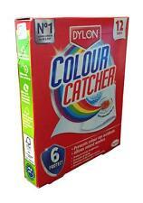 DYLON COLOUR CATCHER 12 SHEETS WASHING MACHINE MIXED COLOUR WASH PREVENT RUNNING