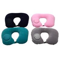 Inflatable Super Light Portable Neck Pillow U-Shape Automatic Inflatable TravVG