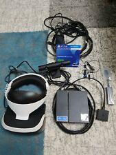 PS4 VR Brille mit Kamera ,HDMI Kabel ,CD ,passender PS5 Adapter komplett !
