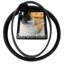 Club Car DS Gas Golf Cart Tune Up Kit (04+) with Oil Filter Drive & Starter Belt
