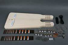 NEW  DIY DOUBLE NECK  STEEL ELECTRIC GUITAR  SLIDE KIT