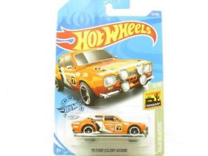 Hot Wheels 70 Ford Escort RS1600 Baja Blazers Long Card 1 64 Scale Sealed New