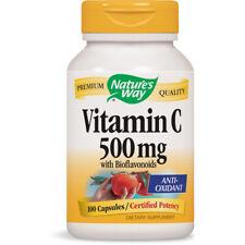 Natures Voie - Vitamine C-500 Avec Bioflavonoïdes - 100 Capsules