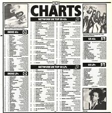 12/10/91 Pgn60 The Nme Charts On12/10/91 The Uk Top Fifty Singles And Albums