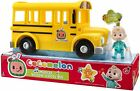 Cocomelon Musical Yellow School Bus With JJ Figure - On Hand Fast Free Shipping For Sale