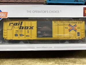 HO scale Athearn RAILBOX Boxcar