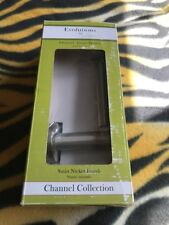 Gatco Channel Satin Nickel Euro Tissue Holder - 4693 Brand New