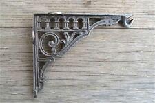 Antique style cast iron hook bracket lantern shelf bracket hanging basket SLB1