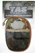 TAS 1200 UTILITY POUCH AUSCAM MOLLE FLAT OPENING - HD 900D DOUBLE PU COATED