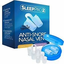 Premium Anti Snore Nose Vents Sleep Aid Device #1 Snore Stopper Best Seller Easy
