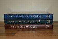 Inferno Paradiso Purgatorio - Dante Alighieri - Folio Society 2004-2009 (PQ)
