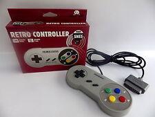 Mando PAD SUPER NINTENDO SNES nuevo controller color Retro 1 año de garantía