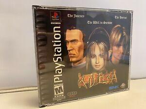 Koudelka PLAYSTATION 1 près De Complet 4-Disc W/Manuel Complet PS1