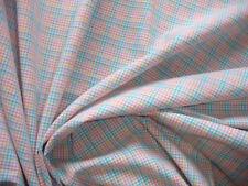 1 Lfm Baumwollstoff 3,10€/m²  klein kariert Pastellfarben reine Baumwolle Q15.1