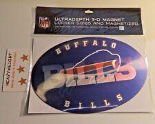 Buffalo Bills Ultradepth 3-D Magnet Locker Sized Indoors Outdoors Room or Car