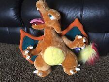 "1998 Pokemon Charizard Gamefreak Plush Stuffed 18"" Nintendo NWT Poseable Wings"