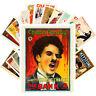 Postcards Pack [24 cards] CHARLIE CHAPLIN Vintage Movie Posters CC1355