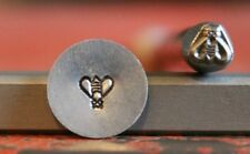 SUPPLY GUY 5mm Bee Metal Punch Design Stamp SGM-41, Made in the USA