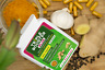 TURMERIC Black pepper Ginger Garlic capsules 100% ORGANIC AND VEGAN CURCUMIN
