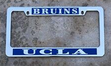 UCLA Bruins license plate frame chrome NEW