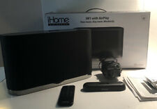 iHome Air Series iW1 With AirPlay Speaker System iPod iPhone Compatible H2