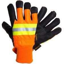 MCR Luminator 34411 XL Pigskin Leather Water Proof Insulated Work Gloves Dozen