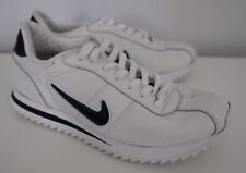 Men's Nike Cortez 72 White Blue Swoosh Trainers - Size 8.5