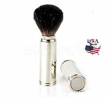 MEN'S SHAVING BRUSH BEST TRAVEL SHAVING BRUSH -100% BADGER HAIR MADE IN ENGLAND