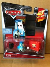 """DISNEY CARS DIECAST - """"Pit Crew Member Guido"""" - 2015 Card - Combined Postage"""
