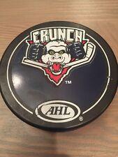 Syracuse Crunch 2001-02 InGlasCo All White Reverse Ahl Hockey Puck
