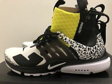 more photos 3c3a8 5ce6e Nike Air Presto Mid Utility X Acronym Dynamic Yellow AH7832-100 UK 8 US 9