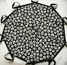Skull Crossbones Pirates Fabric Bunting 20ft /6m Nautical Halloween new design